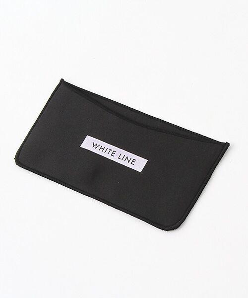 Verseau / ヴェルソー モバイルケース | WHITE LINE {洗える}抗菌 ダンボール マスクケース(ブラック)