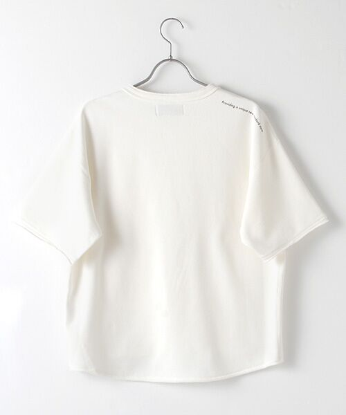 Verseau / ヴェルソー スウェット | WHITE LINE {洗える} 抗ウイルス クレンゼ 裏毛 Tシャツ | 詳細1