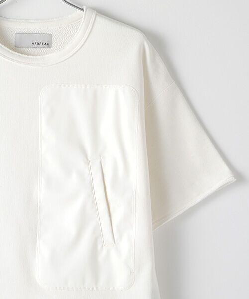Verseau / ヴェルソー スウェット | WHITE LINE {洗える} 抗ウイルス クレンゼ 裏毛 Tシャツ | 詳細2