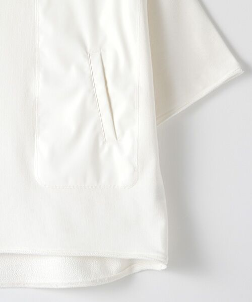 Verseau / ヴェルソー スウェット | WHITE LINE {洗える} 抗ウイルス クレンゼ 裏毛 Tシャツ | 詳細3