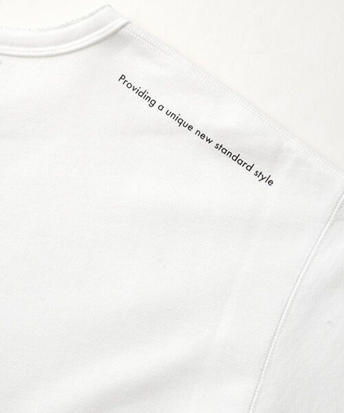 Verseau / ヴェルソー スウェット | WHITE LINE {洗える} 抗ウイルス クレンゼ 裏毛 Tシャツ | 詳細4