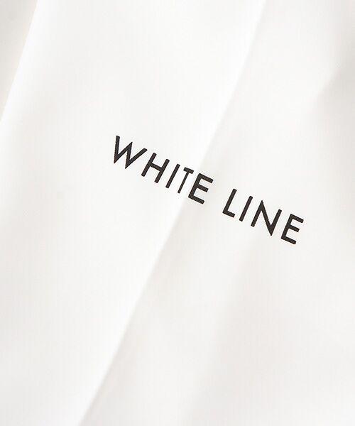Verseau / ヴェルソー Tシャツ   WHITE LINE{洗える}抗菌・吸水速乾・UVカット 肌に優しいダンボールT   詳細1
