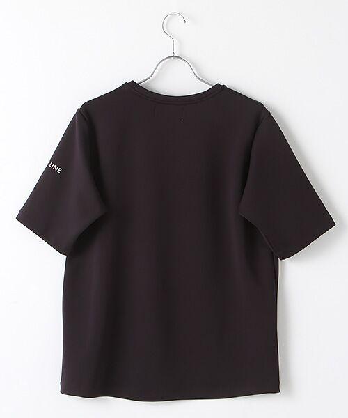 Verseau / ヴェルソー Tシャツ   WHITE LINE{洗える}抗菌・吸水速乾・UVカット 肌に優しいダンボールT   詳細2