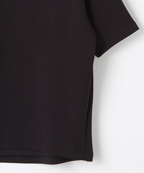 Verseau / ヴェルソー Tシャツ   WHITE LINE{洗える}抗菌・吸水速乾・UVカット 肌に優しいダンボールT   詳細4