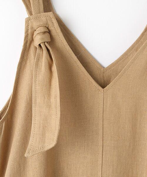 Verseau / ヴェルソー ドレス | フレンチリネン マキシサンドレス | 詳細1