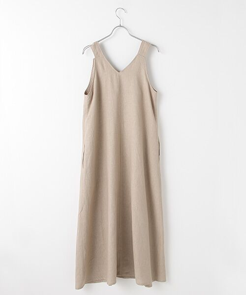 Verseau / ヴェルソー ドレス | フレンチリネン マキシサンドレス | 詳細2