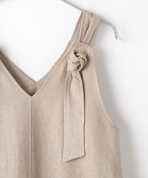 Verseau / ヴェルソー ドレス | フレンチリネン マキシサンドレス | 詳細3