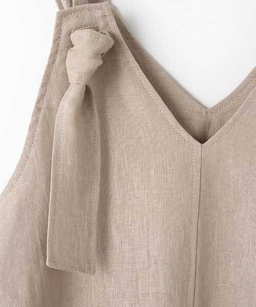 Verseau / ヴェルソー ドレス | フレンチリネン マキシサンドレス | 詳細6