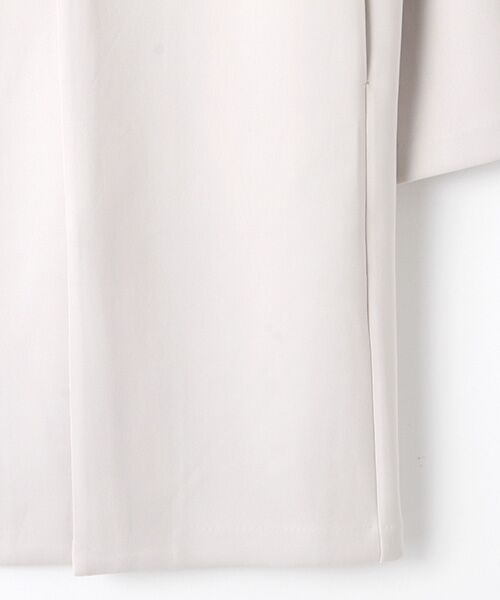Verseau / ヴェルソー ノーカラージャケット   洗える、軽量、抗菌ダンボールノーカラーJK   詳細5