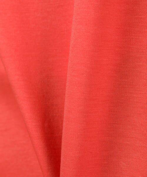 Viaggio Blu(大きいサイズ) / ビアッジョブルー(おおきいサイズ) カットソー | ≪大きいサイズ≫袖タックカットソー | 詳細13