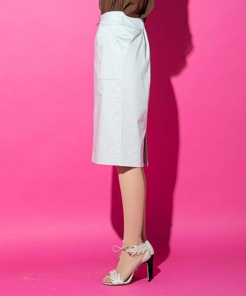 VICKY / ビッキー スカート | 【WEB別注】サテンタイトスカート | 詳細4