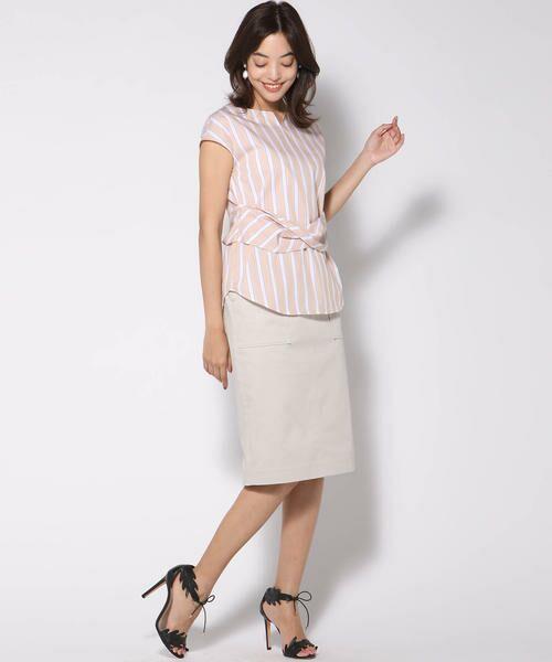 VICKY / ビッキー スカート | 【WEB別注】サテンタイトスカート | 詳細12