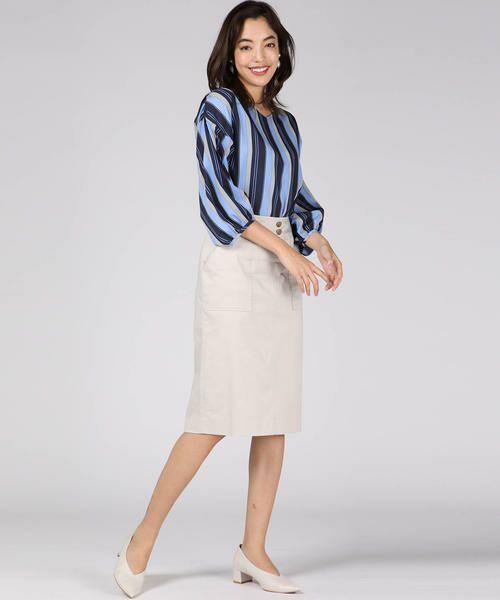 VICKY / ビッキー スカート | 【WEB別注】サテンタイトスカート | 詳細14