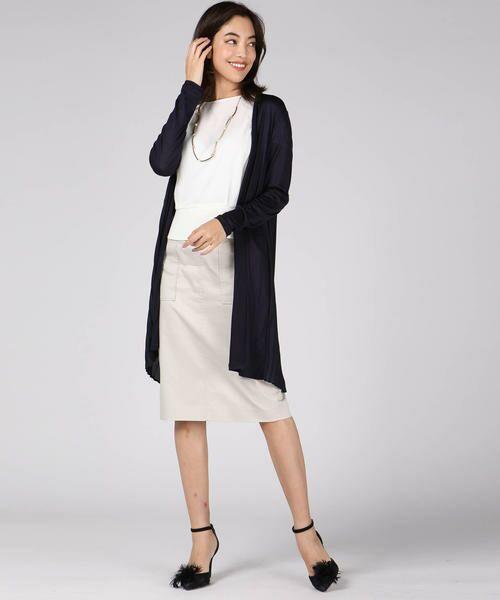 VICKY / ビッキー スカート | 【WEB別注】サテンタイトスカート | 詳細15