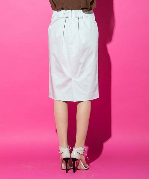 VICKY / ビッキー スカート | 【WEB別注】サテンタイトスカート | 詳細5