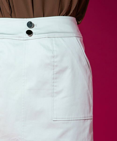 VICKY / ビッキー スカート | 【WEB別注】サテンタイトスカート | 詳細6