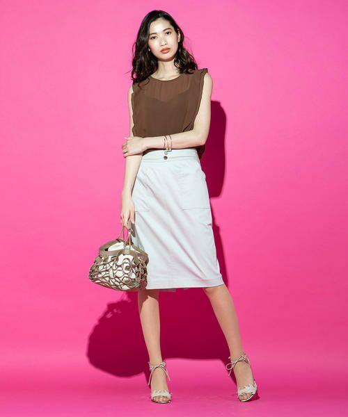 VICKY / ビッキー スカート | 【WEB別注】サテンタイトスカート | 詳細9