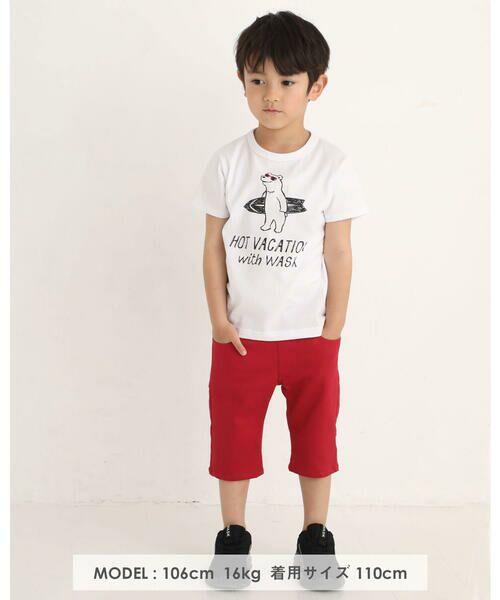 WASK / ワスク Tシャツ   アニマル 天竺 Tシャツ (100~160cm)   詳細1