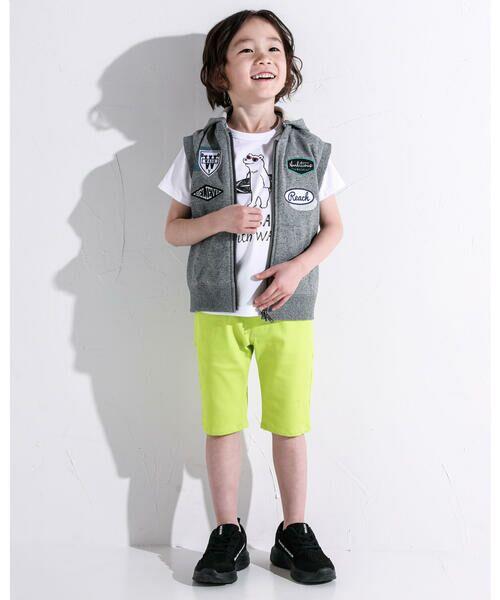 WASK / ワスク Tシャツ   アニマル 天竺 Tシャツ (100~160cm)   詳細8