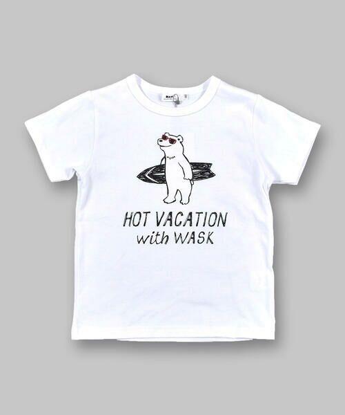 WASK / ワスク Tシャツ   アニマル 天竺 Tシャツ (100~160cm)   詳細2