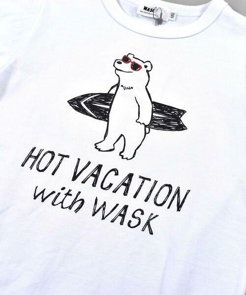 WASK / ワスク Tシャツ   アニマル 天竺 Tシャツ (100~160cm)   詳細5