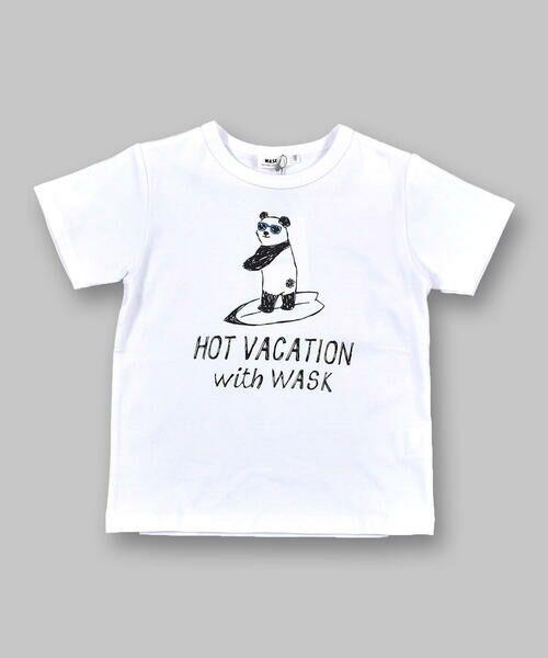 WASK / ワスク Tシャツ   アニマル 天竺 Tシャツ (100~160cm)   詳細11