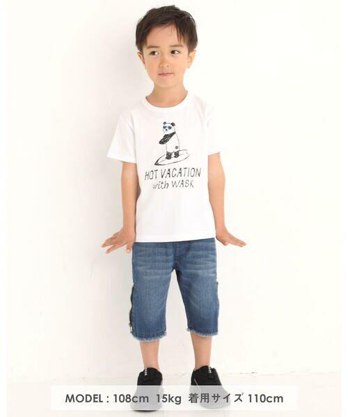 WASK / ワスク Tシャツ   アニマル 天竺 Tシャツ (100~160cm)   詳細9