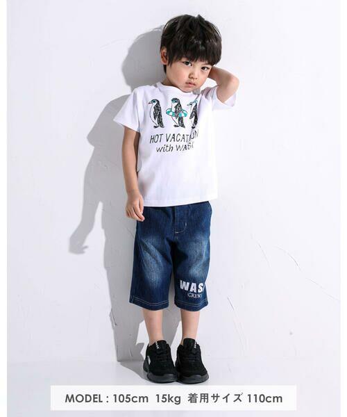 WASK / ワスク Tシャツ   アニマル 天竺 Tシャツ (100~160cm)   詳細20