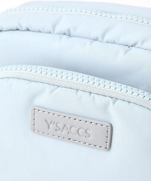 Y'SACCS / イザック ショルダーバッグ | リサイクルナイロン2WAYポシェット | 詳細6