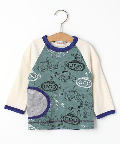 zuppa di zucca / ズッパ ディ ズッカ Tシャツ | 製品洗長袖Tシャツ(グリーン)