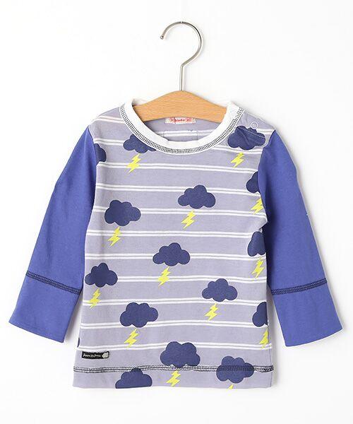 zuppa di zucca / ズッパ ディ ズッカ Tシャツ   製品洗長袖Tシャツ(モーブ)