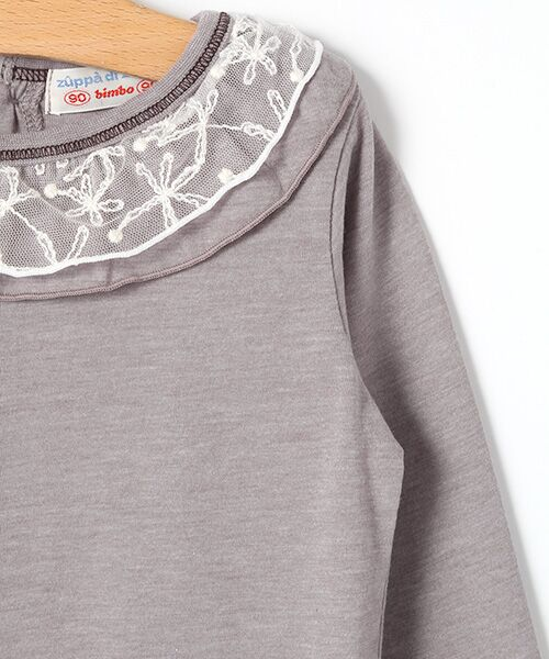 zuppa di zucca / ズッパ ディ ズッカ Tシャツ | 製品洗長袖Tシャツ | 詳細2
