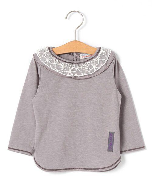 zuppa di zucca / ズッパ ディ ズッカ Tシャツ | 製品洗長袖Tシャツ(グレー)
