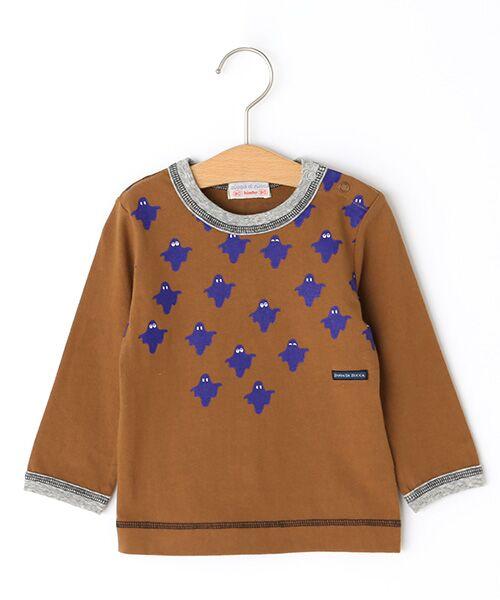 zuppa di zucca / ズッパ ディ ズッカ Tシャツ | 製品洗長袖Tシャツ(オーカー)