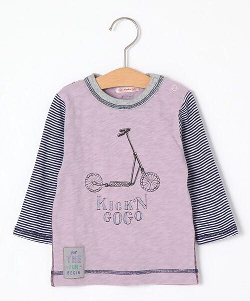 zuppa di zucca / ズッパ ディ ズッカ Tシャツ | 製品洗長袖Tシャツ(ピンク)