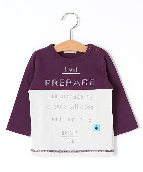zuppa di zucca / ズッパ ディ ズッカ Tシャツ | 製品洗長袖Tシャツ(パープル)