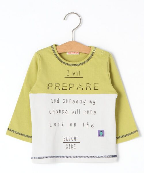 zuppa di zucca / ズッパ ディ ズッカ Tシャツ | 製品洗長袖Tシャツ(イエロー)
