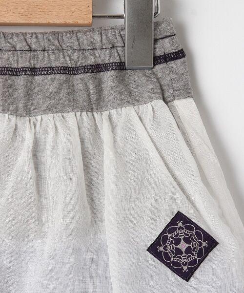 zuppa di zucca / ズッパ ディ ズッカ ミニ・ひざ丈スカート | 製品洗パンツ付スカート | 詳細2
