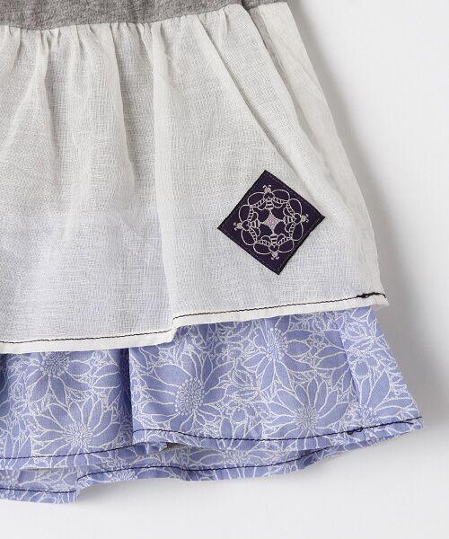 zuppa di zucca / ズッパ ディ ズッカ ミニ・ひざ丈スカート | 製品洗パンツ付スカート | 詳細3