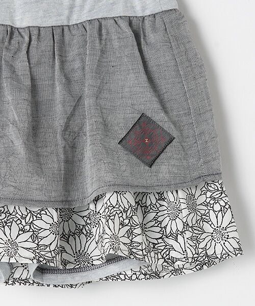 zuppa di zucca / ズッパ ディ ズッカ ミニ・ひざ丈スカート | 製品洗パンツ付スカート | 詳細4