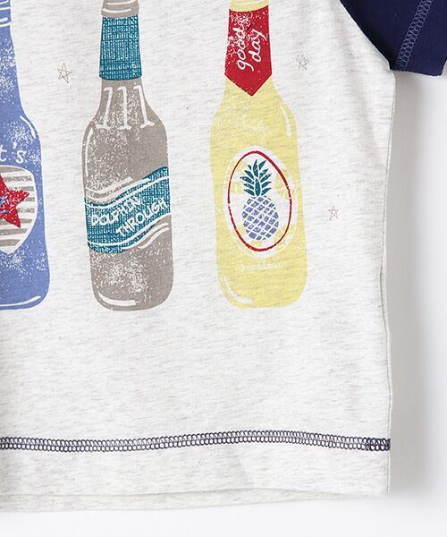 zuppa di zucca / ズッパ ディ ズッカ Tシャツ | 製品洗ボトルプリントTシャツ | 詳細3