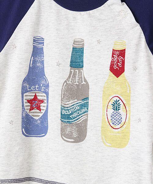 zuppa di zucca / ズッパ ディ ズッカ Tシャツ | 製品洗ボトルプリントTシャツ | 詳細6