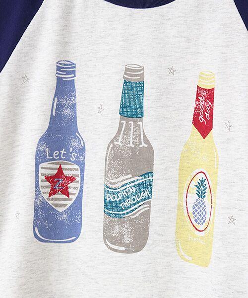 zuppa di zucca / ズッパ ディ ズッカ Tシャツ | 製品洗ボトルプリントTシャツ | 詳細2