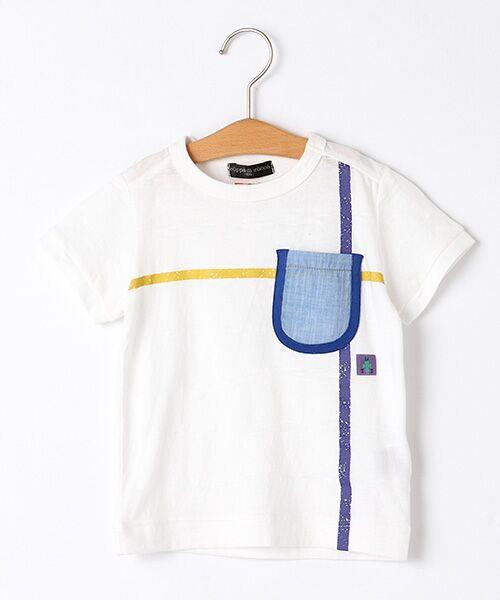 zuppa di zucca / ズッパ ディ ズッカ Tシャツ | 製品洗ポケットTシャツ(オフ)