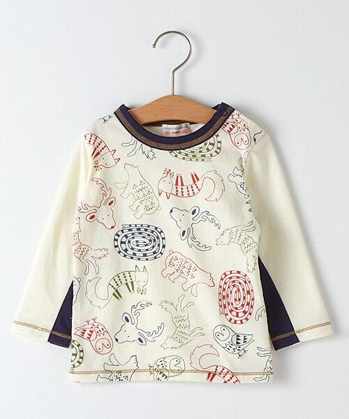 zuppa di zucca / ズッパ ディ ズッカ Tシャツ | 製品洗長袖Tシャツ(オフ)