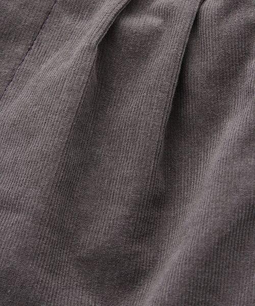 zuppa di zucca / ズッパ ディ ズッカ ショート・ハーフ・半端丈パンツ | 製品洗ストレッチコールハーフパンツ | 詳細1