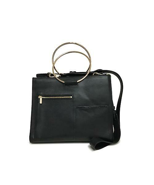 22 OCTOBRE / ヴァンドゥー・オクトーブル 服飾雑貨 | スクエアバッグ(ブラック)