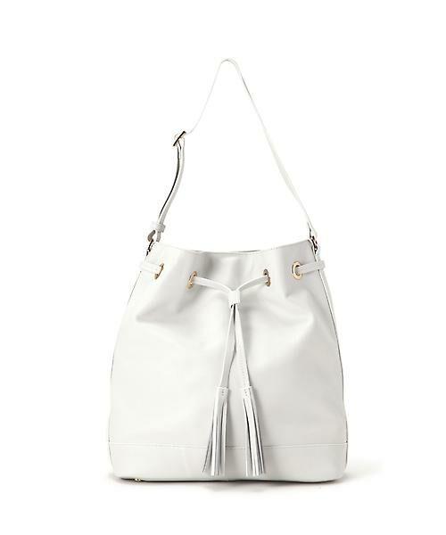 22 OCTOBRE / ヴァンドゥー・オクトーブル 服飾雑貨 | 巾着バッグ(ホワイト)