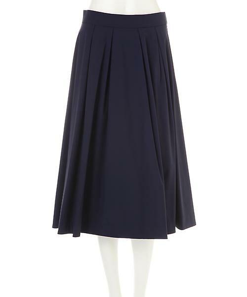 22 OCTOBRE / ヴァンドゥー・オクトーブル スカート | [ウォッシャブル]タックボリュームスカート | 詳細10