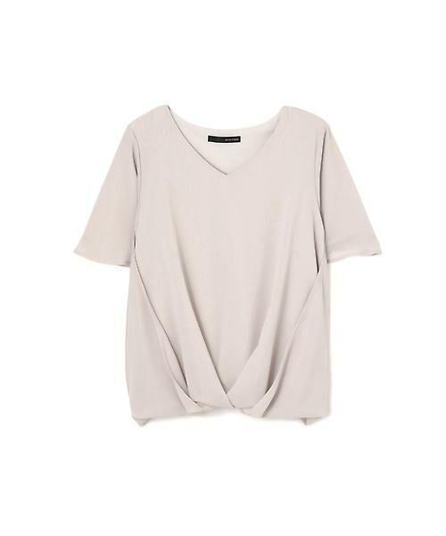 22 OCTOBRE / ヴァンドゥー・オクトーブル Tシャツ | サイドタックブラウソー | 詳細7